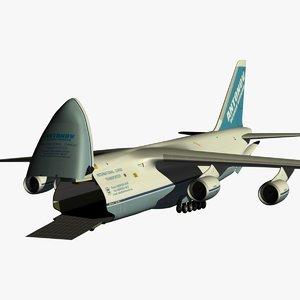 3d antonov ruslan model
