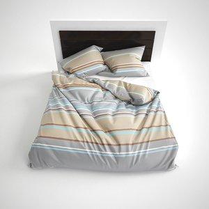 3dsmax hq bed