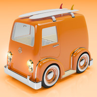 3d cartoon style combi surf