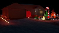 Christmas house bundle