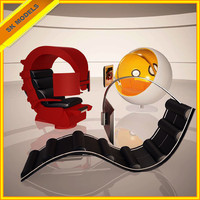 Hi-tech Chair Collection - Ball Chair,Comfy Workstation and GameChair