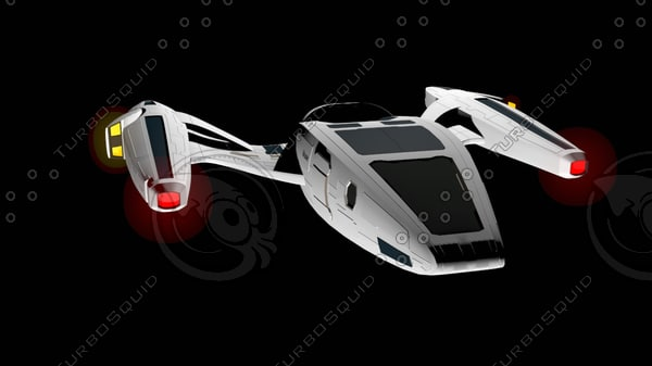 3d model shuttle muse