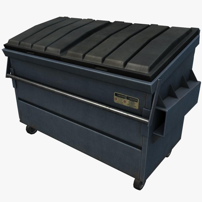 dumpster ready games 3d model