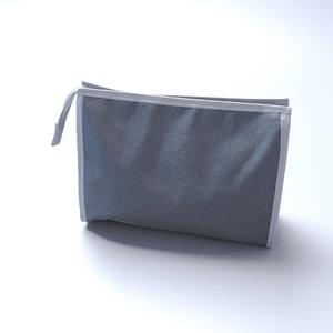 3d toilet bag wash model