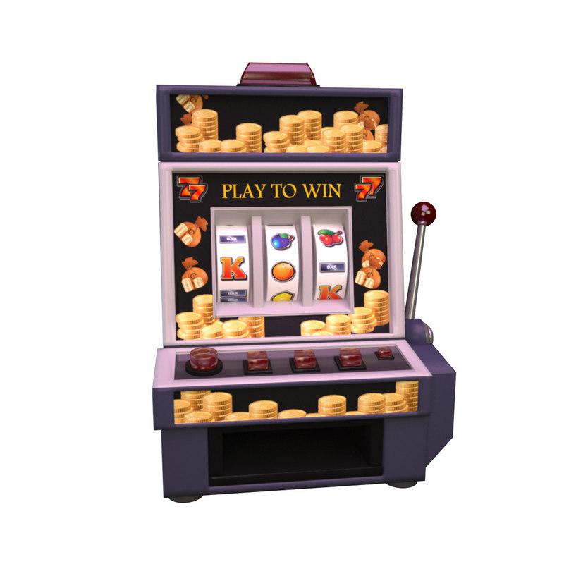 3d max casino machine
