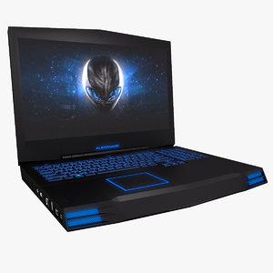 alienware m17x laptop 3d max