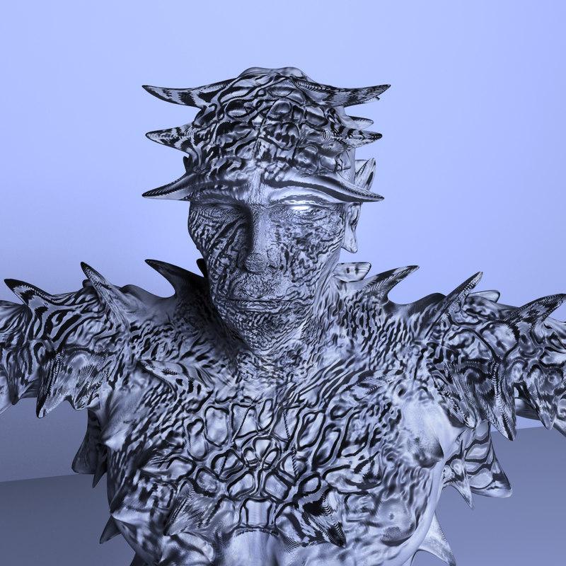 ice demon fbx