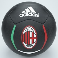 ac milan football foot obj