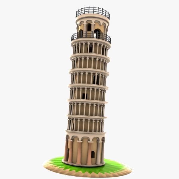 max car pisa tower