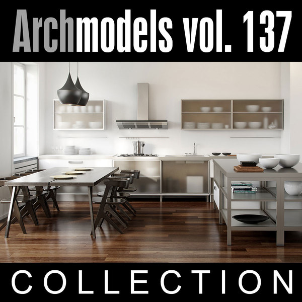 3ds max archmodels vol 137