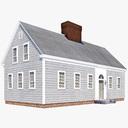 Cape Cod House 3D models
