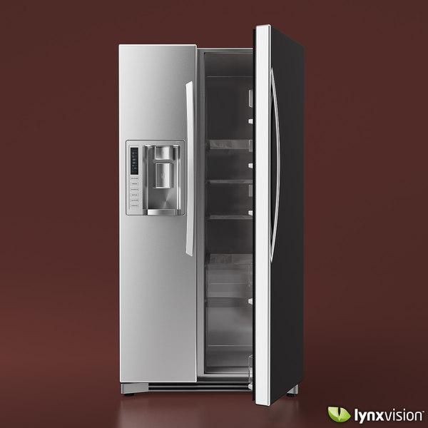 refrigerator lg 3d model
