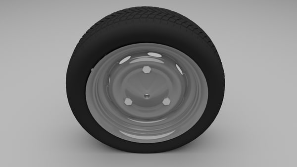 3d dacia wheel model