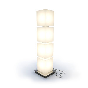 floor lamp delta light 3d model