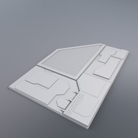 hull segment 3d model