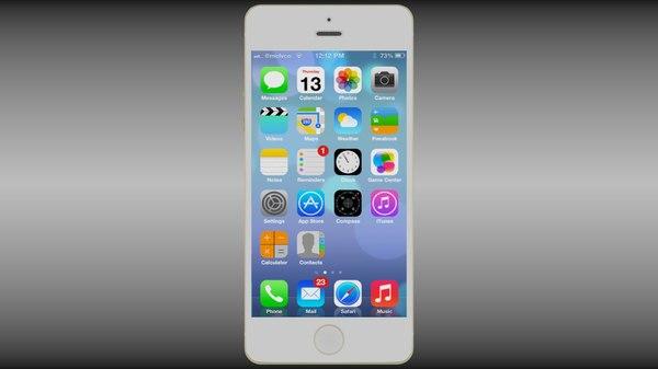 obj apple iphone 5s