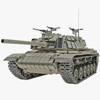israel tank magach 6 3d model