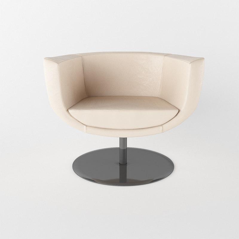 3d model of chair kastel koppa
