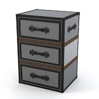 3d myhouse chest drawers model