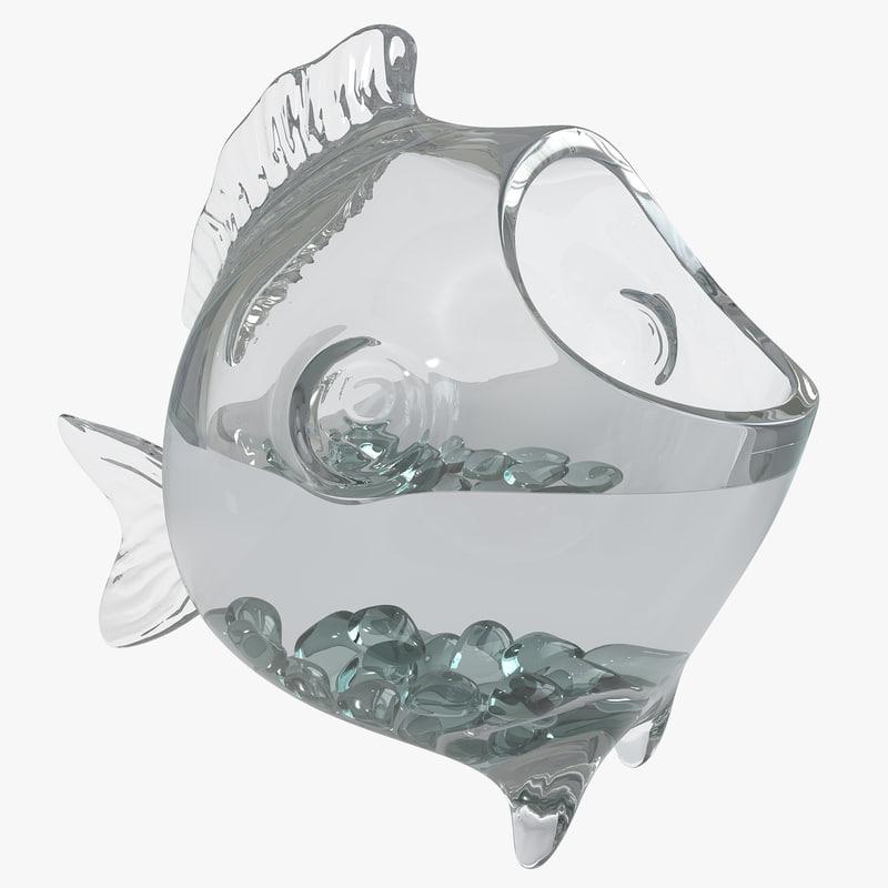 decorative fish bowl 3d max