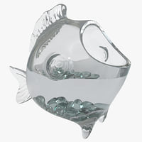 decorative fish bowl 3d max