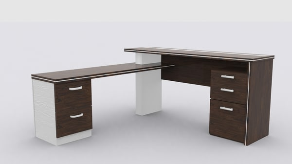 free max model modern desk