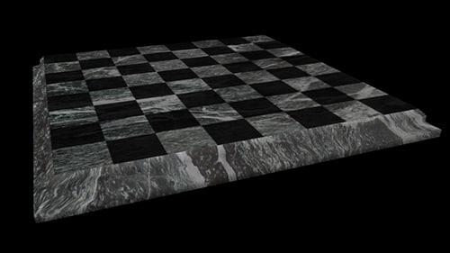 maya check checker marble