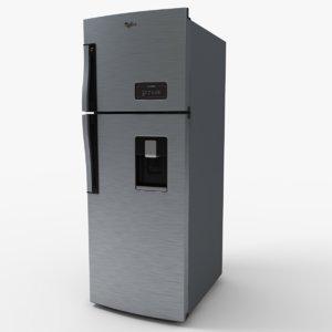wt3935s refrigerator 3d model
