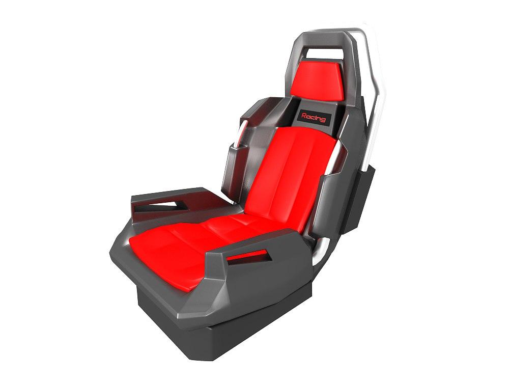 3d seat concept model