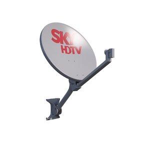 antenna sky 3d model