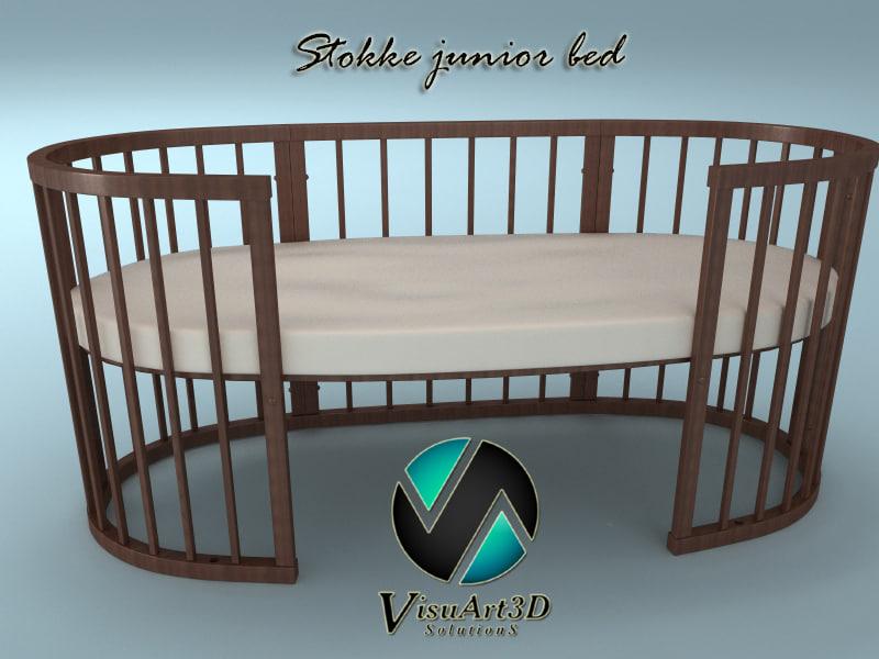 3ds stokke bed