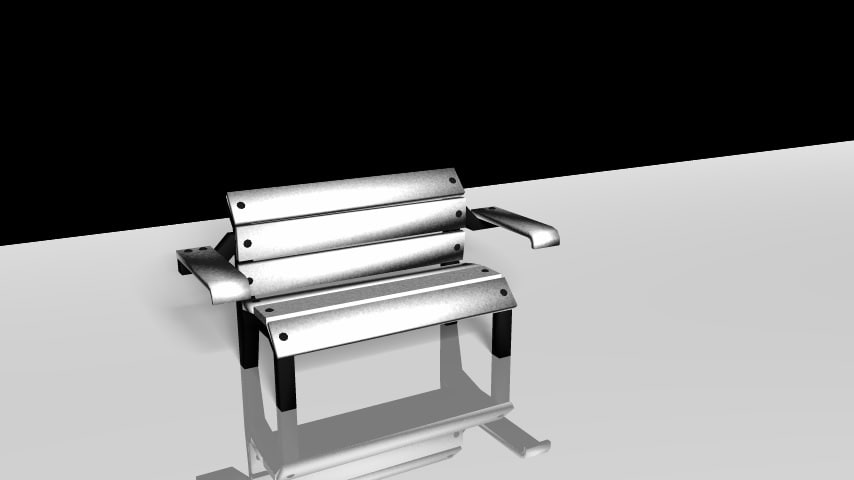3d 3ds bench