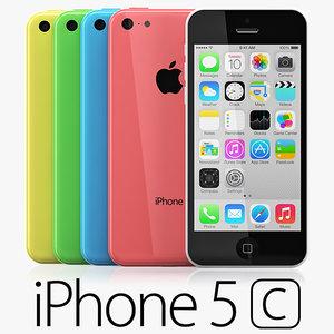 3d model copy iphone 5c colors