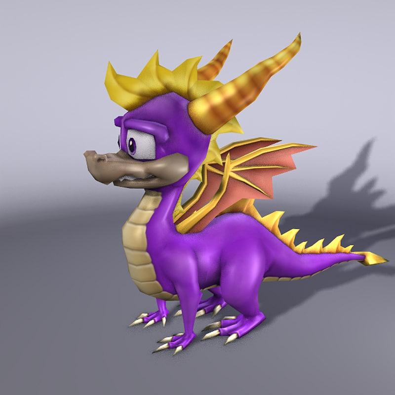 obj spyro dragon