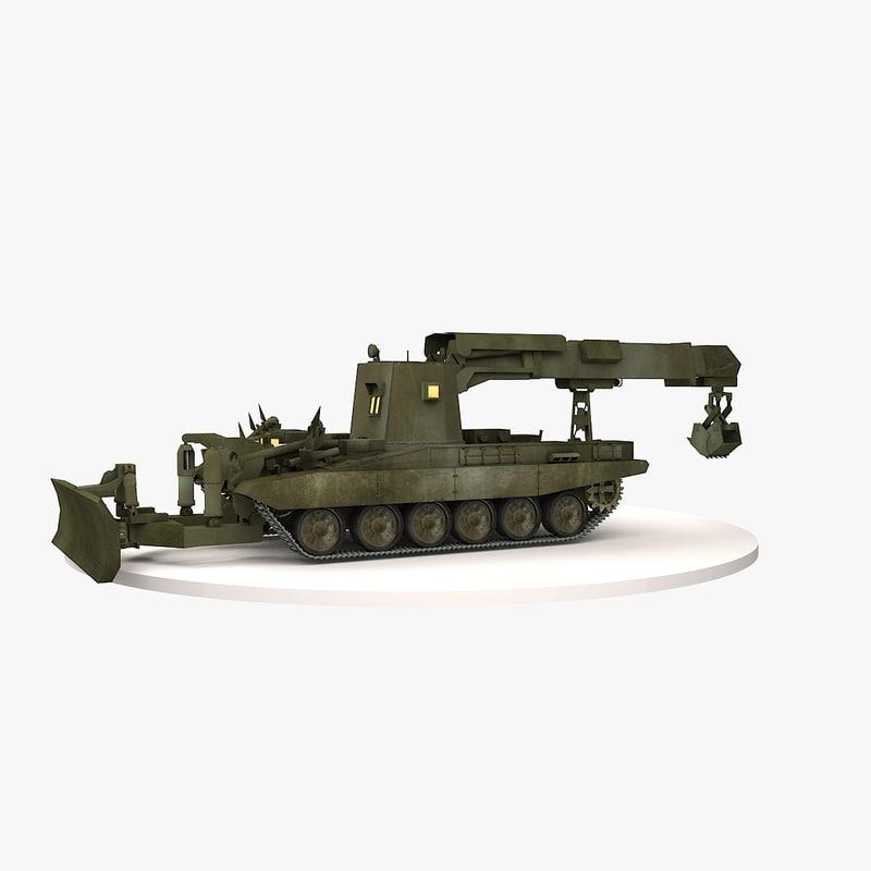 3d engineer vehicle model