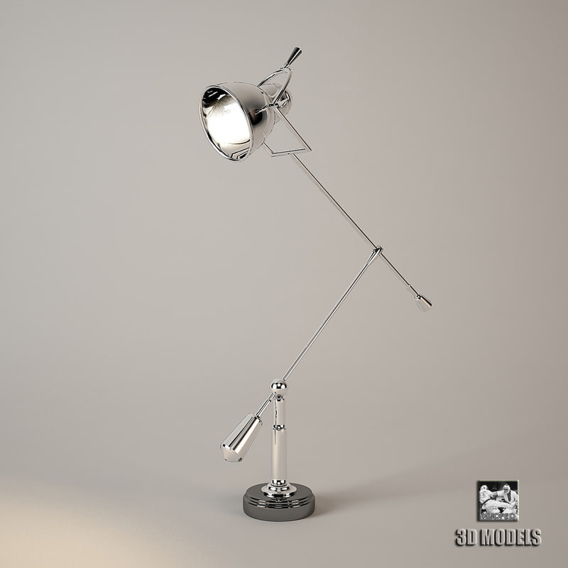 lamp table fairfax 3d max