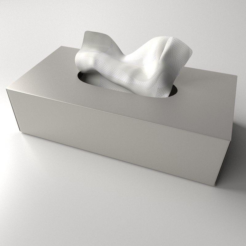 tissue box 3ds