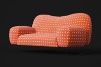 3d sofa rossi di albizzate