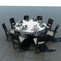 Table With Cloth 1