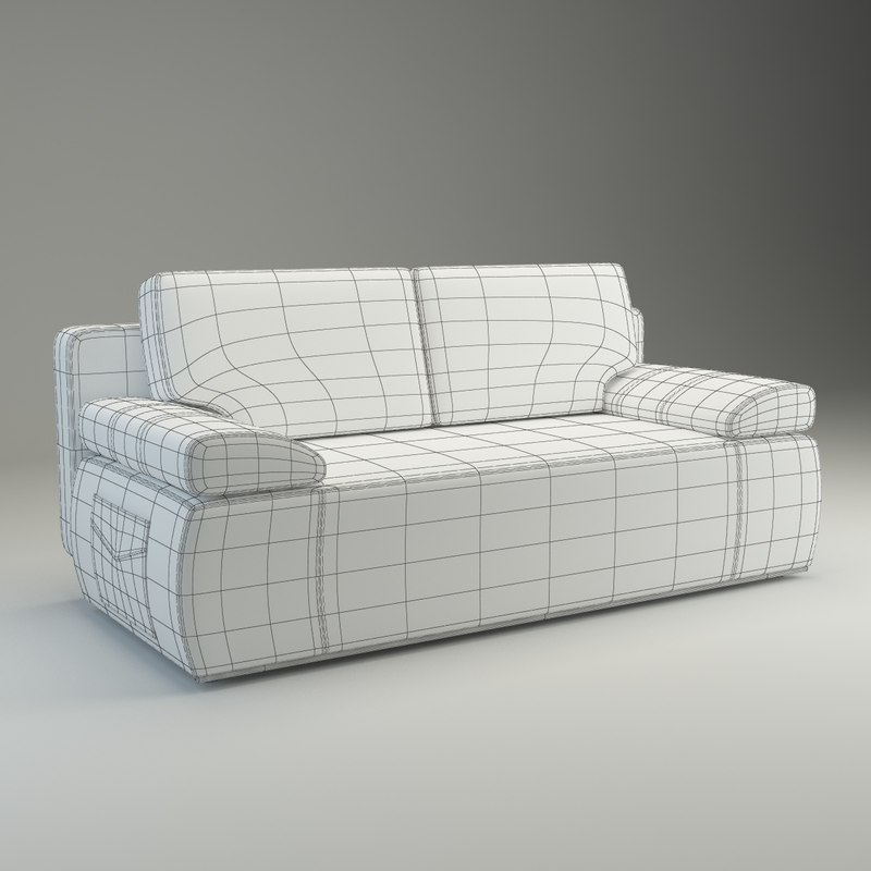3d model sofa julie