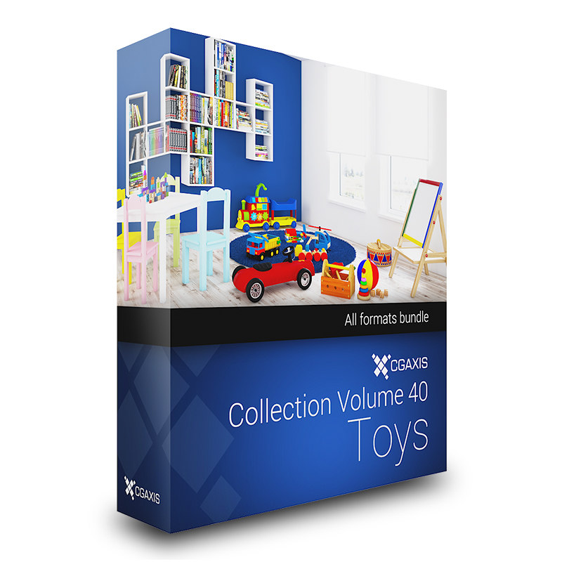 3d ax volue 40 toys