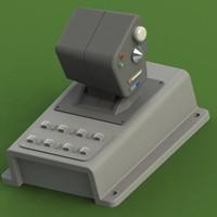 3d joystick model