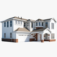 mcmansion house 3d max