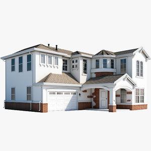 mcmansion house 3d max