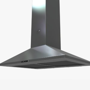 whw6500s stove hood 3d max