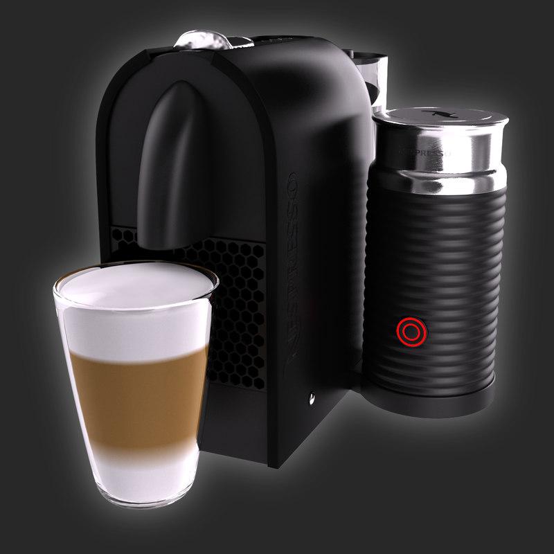 nespresso umilk krups 3ds