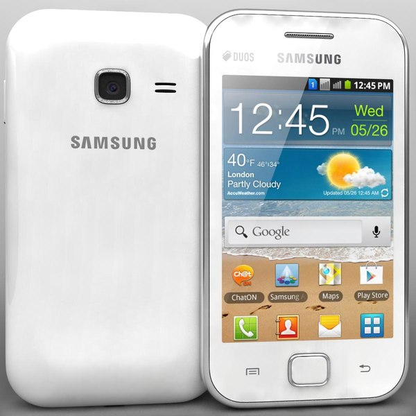 3d samsung galaxy ace duos model