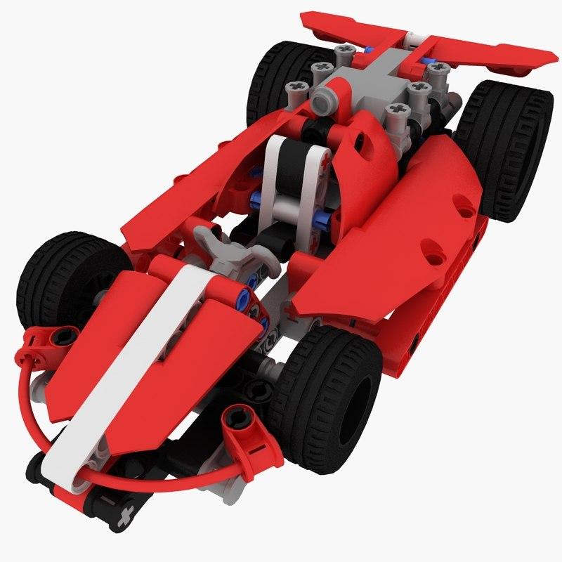 lego race car 3ds