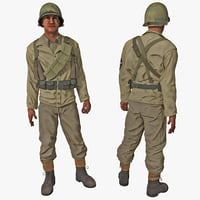 max american wwii infantry soldier