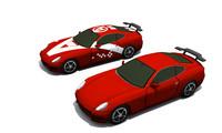 3d concept - set model